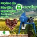 (Granos de cacao)  Molino de martillo MKHM158B