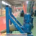Máquina para pellets con madera 260 mm PTO 160-250 kg/h - MKFD260P