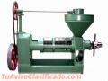 Prensa extrusora de oleaginosas extracción de aceites 200-330kg/hr