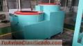 Granuladora 3 a 5 ton por hora, rotativa compost orgánicos y fertilizantes, humus de dos c