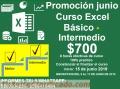 CURSO Excel Básico + Intermedio $700