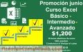 CURSO Excel Básico + Intermedio + Avanzado $1200