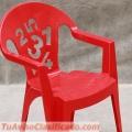 Venta de sillas de plástico para niños