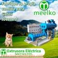 Alimentos Extrusora pellets - gatos 700-780kg/h 55kW - MKEW120B