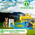 500-580kg/h 37kW Extrusora - pellets alimentos para gatos - MKEW090B