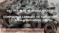 COMPRAMOS DESECHO DE CARBURO DE TUNGSTENO EN LEON , GUANAJUATO