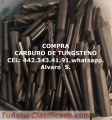 CARBURO DE TUNGSTENO COMPRA Y VENTA