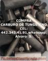 COMPRA DE CORTADORES DE CARBURO DE TUNGSTENO