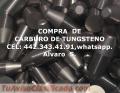 CARBURO DE TUNGSTENO EN LEON COMPRA VENTA