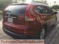 Honda CRV aut. Modelo 2012