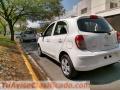 Nissan March modelo 2012